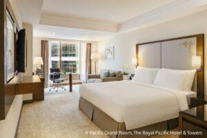 香港皇家太平洋酒店包3餐Staycation